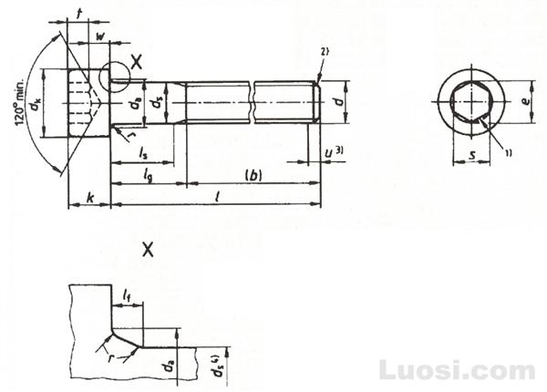 DIN EN ISO 4762 圆柱头内六角螺钉