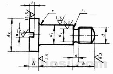 GB/T 830-88 开槽圆柱头轴位螺钉
