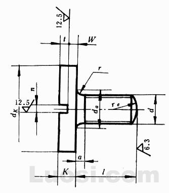 GB/T 833-88 开槽大圆柱头螺钉