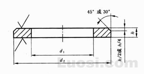 GB/T 97.2-2002 平垫圈  倒角型 A级