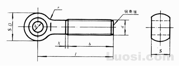 GB/T 798-88 活节螺栓