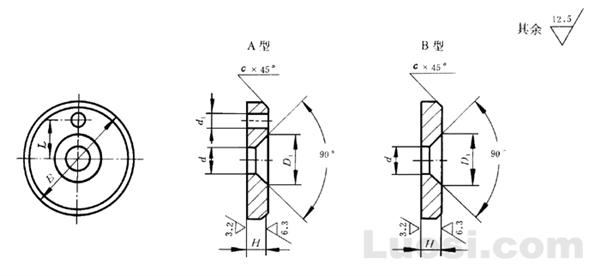 GB/T 891-86 螺钉紧固轴端挡圈
