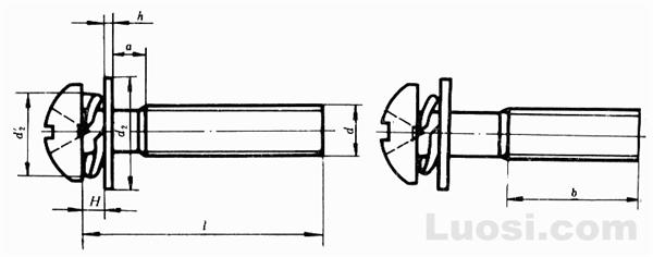GB/T 9074.4-88 十字槽盘头螺钉、弹簧垫圈和平垫圈组合件