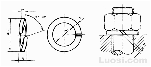 GB/T 9074.26-88 组合件用弹簧垫圈