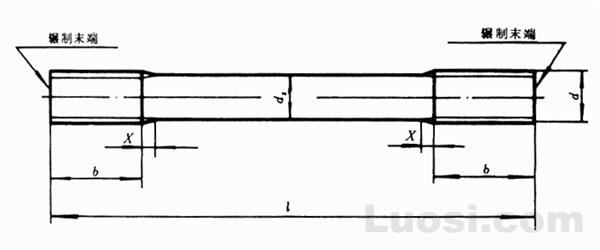 GB/T 953-88 等长双头螺柱 C级