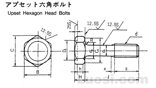 FRS 7301 凹穴六角螺栓