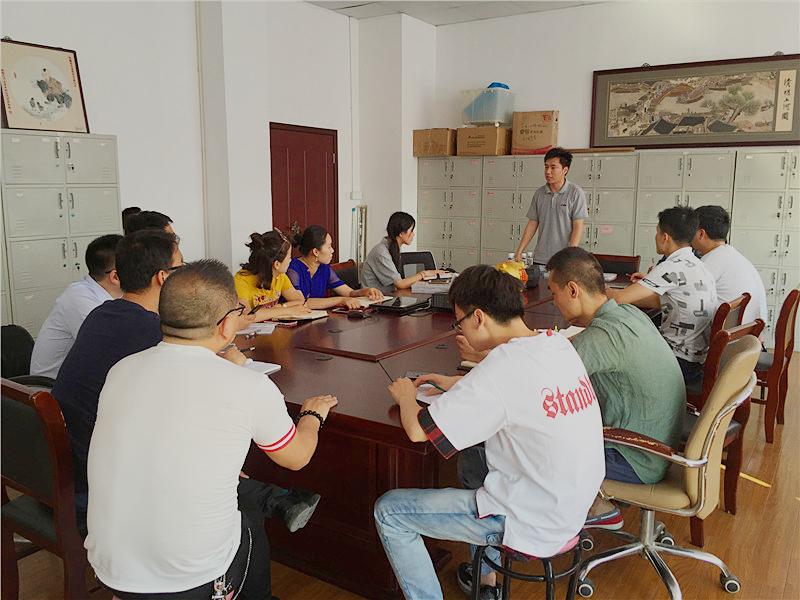 欢迎上海世嘉智尼(sugatsune)来无锡阿曼达开展产品知识交流会