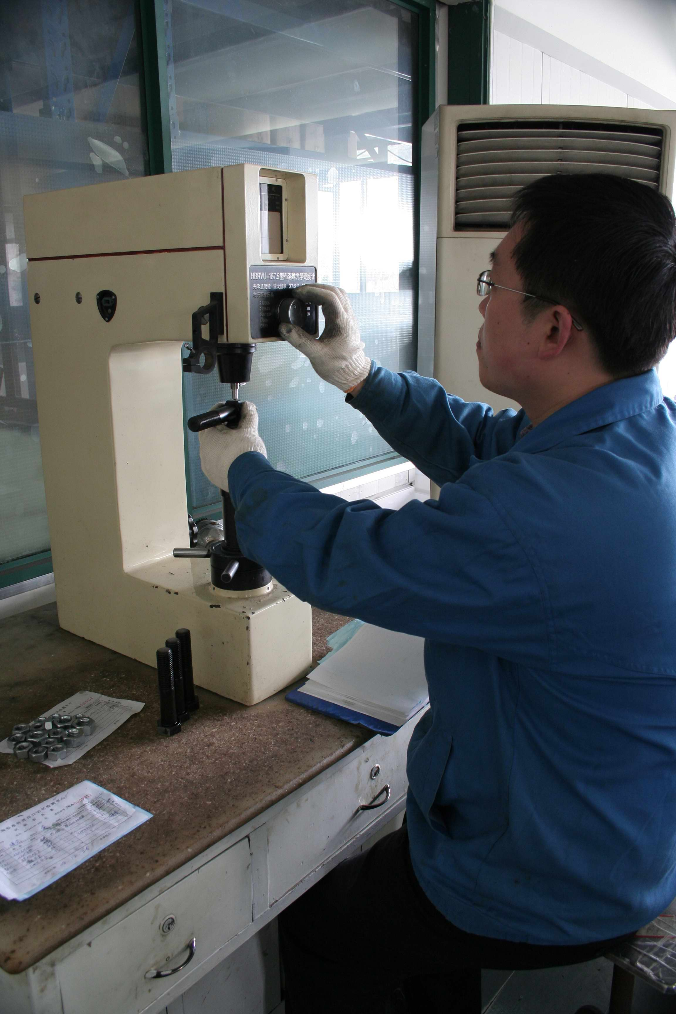 上標五廠質檢車間-布洛維光學硬度儀