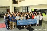 2018年4月13日华人螺丝环球考察团成员在台湾长鸿合影