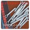 高品质235材质表面镀白锌开口销.