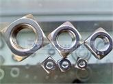 不锈钢方螺母