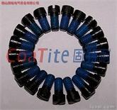 供应: 固特耐防松螺丝 预涂防松处理螺丝 点胶螺丝