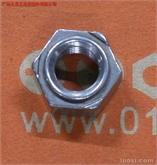 不锈钢外焊接四方螺母