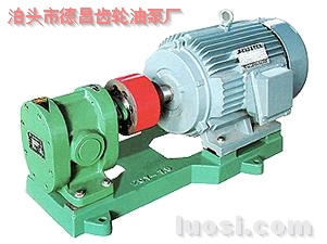 2CY不锈钢圆弧齿轮泵
