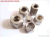 供应:不锈钢油管高压螺母