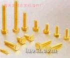 供应:专业生产铜紧固件