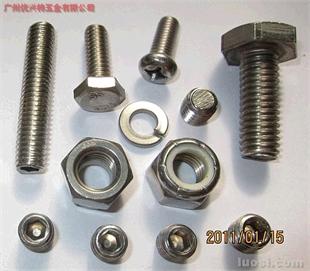 不锈钢系列螺丝、螺母