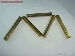 六角平牙铜柱,六角铜柱