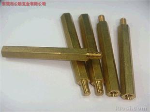 连牙铜柱,铜柱,六角铜柱