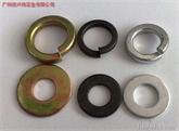 供应:不锈钢、发黑、彩锌平垫、弹垫圈