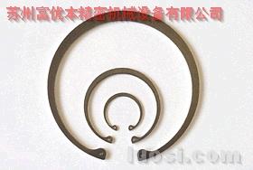 304不锈钢弹簧钢卡簧,进口耐腐孔用挡圈,高品质孔用卡簧,苏州孔用弹性挡圈