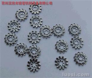 JIS规格齿形垫圈,日本SUS304齿形垫圈,304不锈钢弹簧钢齿形锁紧垫圈