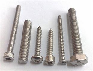 不锈钢螺丝、不锈钢紧固件