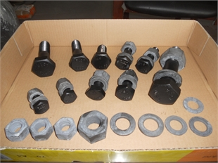 GB1228-1231钢结构用10.9级大六角头螺栓,连接副。
