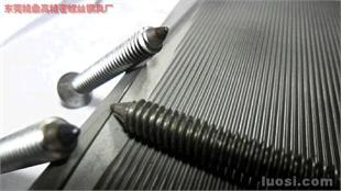 束尾切平搓丝板及效应