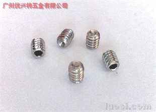 不锈钢凹端机米DIN916