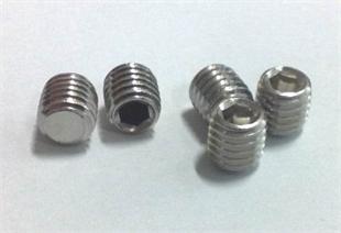 不锈钢平端紧定(DIN913)、平端机米紧定螺丝