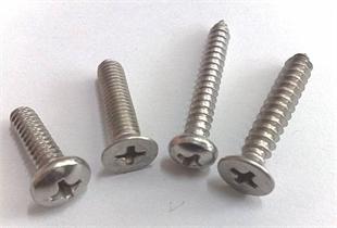 不锈钢十字槽螺丝、机丝钉、自攻钉