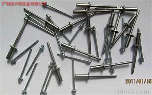 不锈钢全钢拉钉、开口拉钉