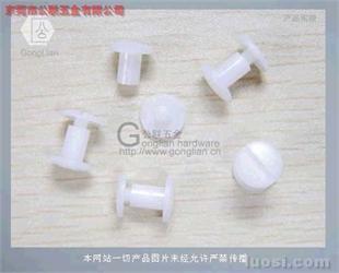 塑胶账本螺丝/塑料螺丝