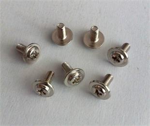 不锈钢盘头十字带介螺丝、圆头螺丝