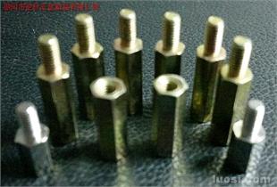 铜六角柱螺钉M3×8+6