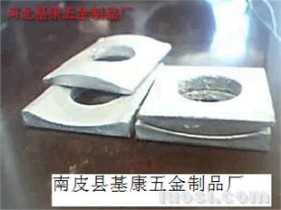 钢波纹管涵柔性连接卡箍用组合垫圈