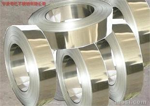 镀镍不锈钢带;316镀镍不锈钢带;316不锈钢镀镍带