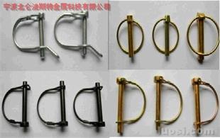 厂家专业生产 各种规格DIN11023安全销,保险销,弹簧销,D型销,O型销,R型销,异型销,锁销,弹簧