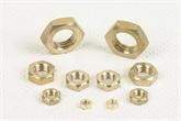 供应:六角铜螺母 黄铜 螺帽 铜 六角螺母 DIN936/DIN439