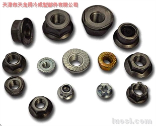 六方法兰焊接、防松、锁紧螺母