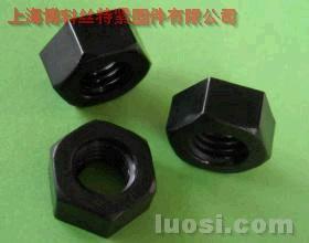 尼龙黑色六角螺母