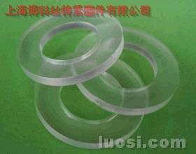 PVC透明 塑胶平垫圈