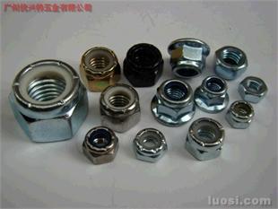 镀锌螺母DIN985、DIN934