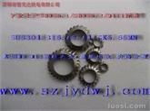 【专业厂家供应DIN6798J锥形外锯齿锁紧垫圈】