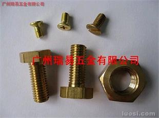 美制铜螺丝、螺栓