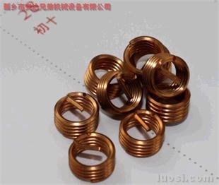 供应铜材质钢丝螺套/铜套/铜丝套 ST36X3X1.5D