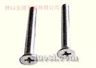 供应:304不锈钢十字槽沉头螺钉GB819