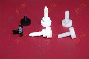 美制手转螺丝 手拧螺丝 滚花螺丝(图)手转塑料螺丝-尼龙螺丝 旋转塑料螺丝 塑胶螺钉塑胶螺丝 #8-32