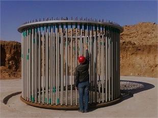 风电基础锚栓  M36*3760-8.8